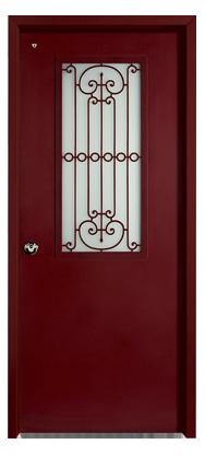 דלת מעוצבת מדגם IDS 6700