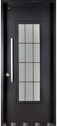 דלת כניסה מעוצבת מדגם לימסול